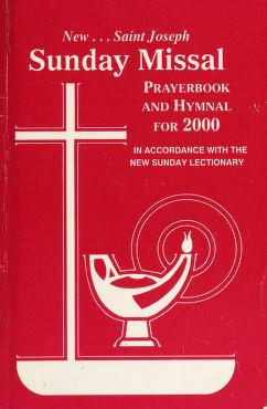 Cover of: St. Joseph Sunday Missal and Hymnal for 2000 | Catholic Book Publishing Co